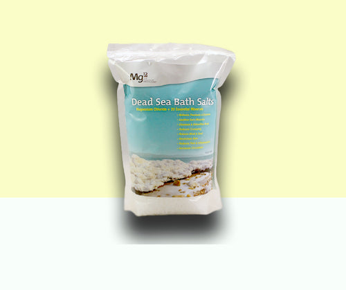 Mg12 MagneSoothe Dead Sea Bath Salts (1kg)