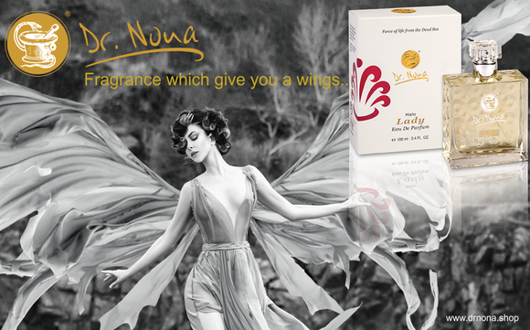 Perfume that gives you wings ...Dr.Nona