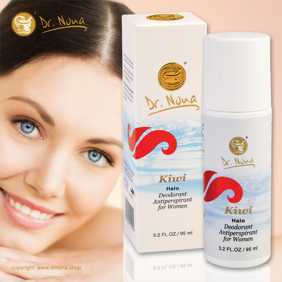 Dr.Nona KIWI Halo Deodorant Antiperspirant for Women - Ladies Kiwi Sweat 95ml - cosmetics - EU - Ireland - UK