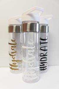 Hydrate Water Bottle