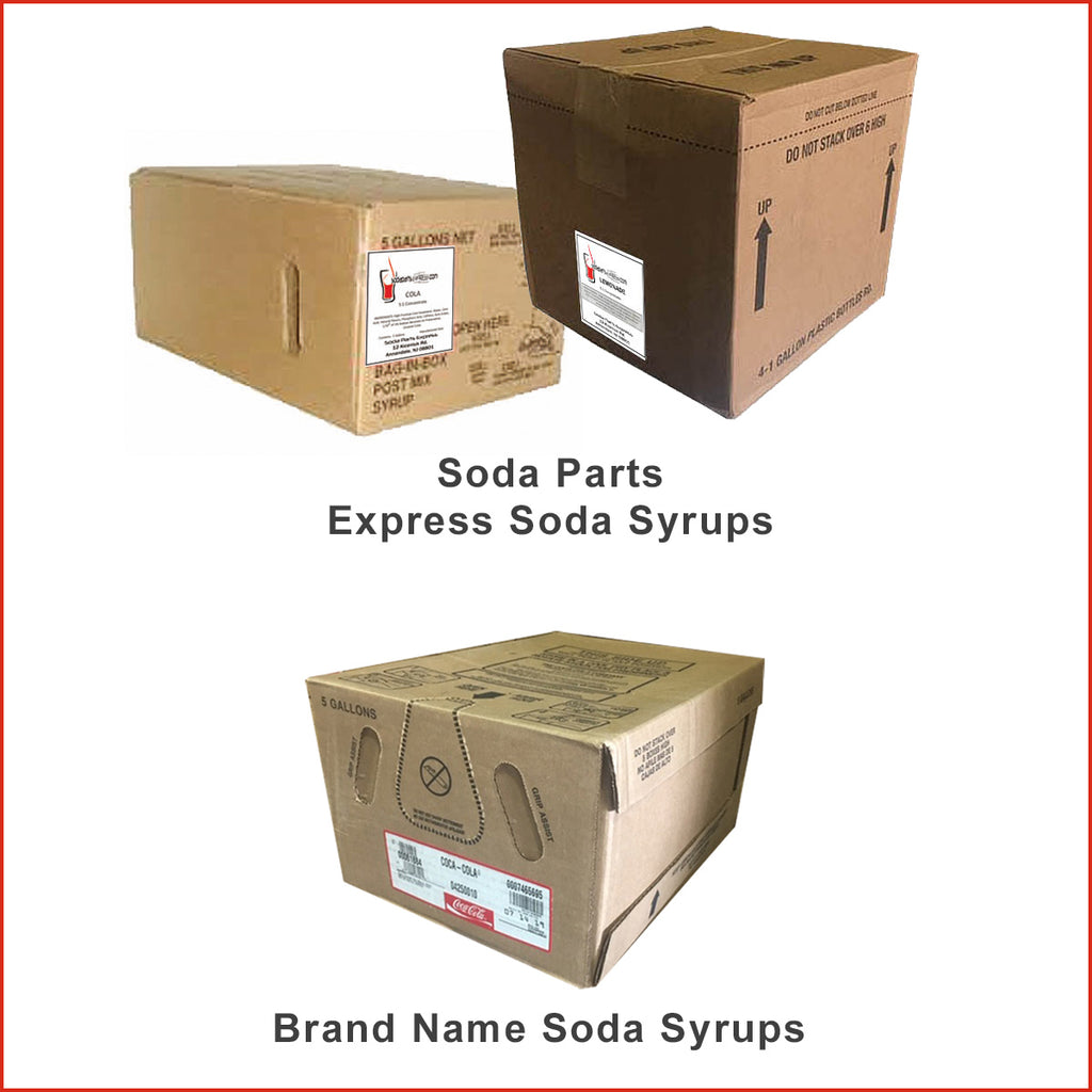Name Brand Soda Syrup