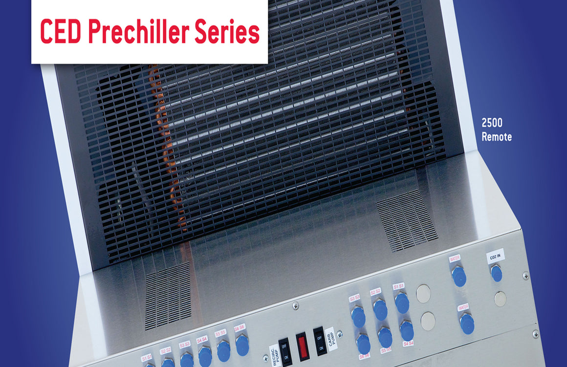 LANCER MODEL 500 PRE-CHILLER, 2 CIRCUIT