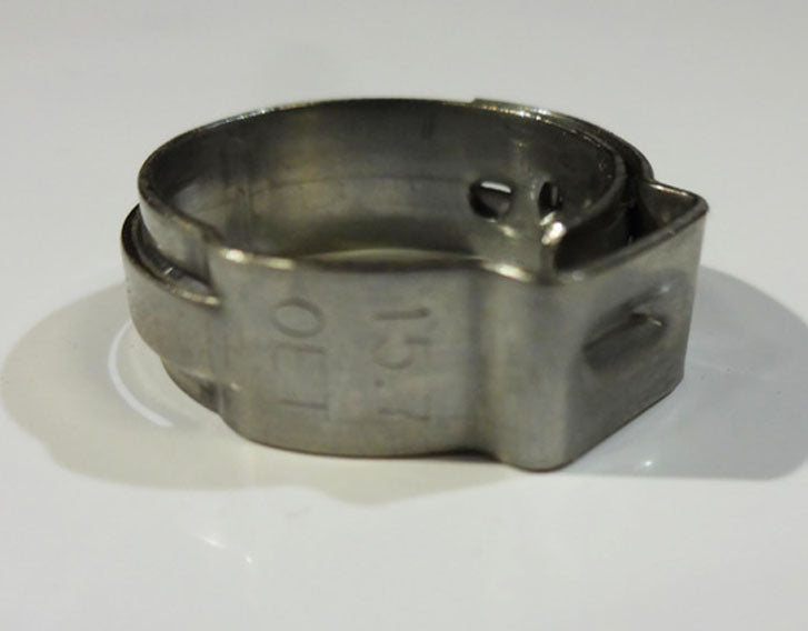 15.7 Stepless Stainless Clamp (Quantity/100)