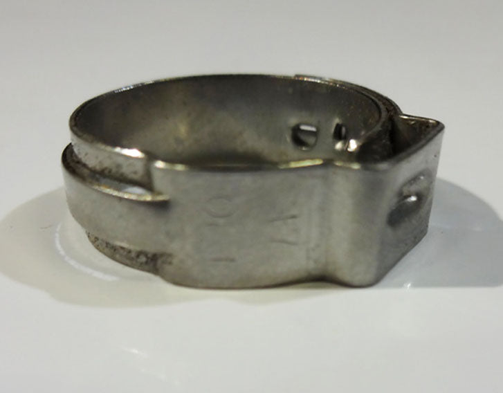17.0 Stepless Stainless Clamp (Quantity/100)