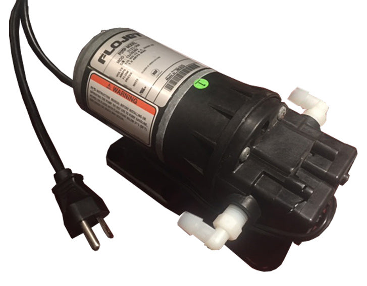 FLOJET ELECTRIC BAG IN BOX PUMP, with 3/8 SYRUP OUT