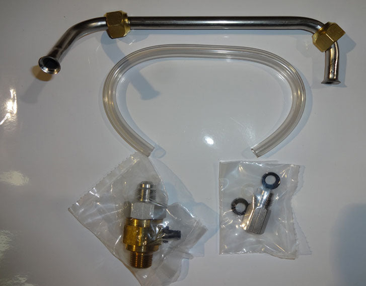 "Vented Check Valve Install Kit for E3000 ""BIG MAC"" Mccann carbonator"