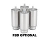 FBD FROZEN 4 BARREL HIGH VOLUME SLUSH DISPENSER, AIR  AND WATER COOLED
