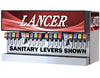 "LANCER 60"" WIDE 16 DRINK ICE COMBO IBD 4500-60 DISPENSER, SANITARY LEVER"