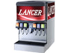 "LANCER 22"" WIDE 6 DRINK ICE COMBO IBD 4500-22 DISPENSER, SANITARY LEVER"