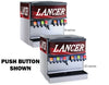 "LANCER 30"" WIDE 10 DRINK ICE COMBO IBD 4500-30 DISPENSER, PUSH BUTTON"