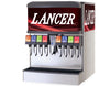 "LANCER 25"" WIDE 8 DRINK ICE COMBO IBD 4500-25 DISPENSER, SANITARY LEVER"