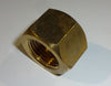 CO2 TANK NUT, BRASS FOR REGULATOR (QUANTITY/2)