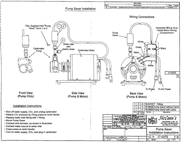 PUMP SAVER INSTALL INSTRUCTIONS