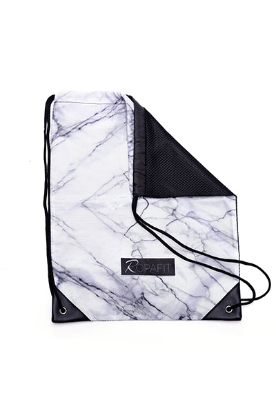 white marble gym sack – cheap gym bags