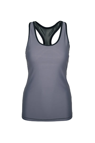 grey tank top -  cheap women's tank tops – gym outfits for ladies - workout sleeveless shirts