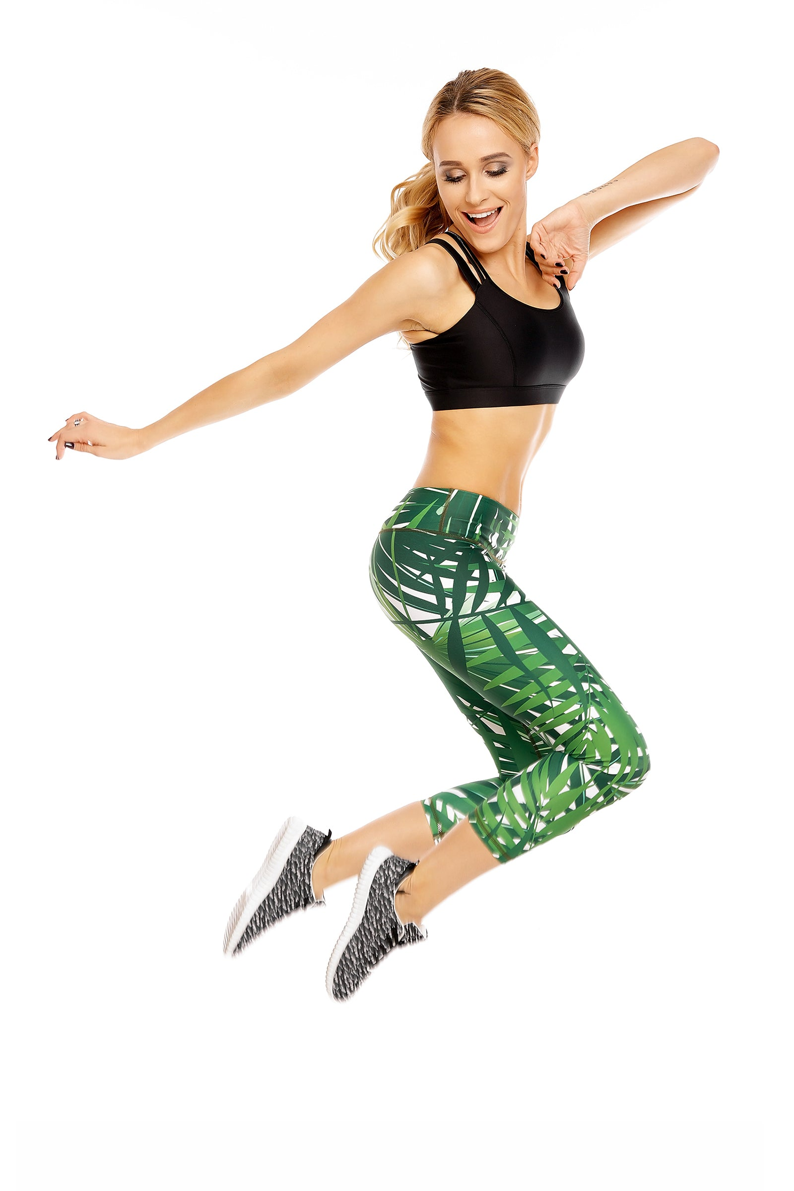 Palm Capri Leggings