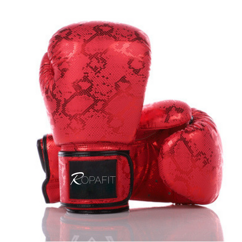 Ropafit Red Snake Boxing Gloves
