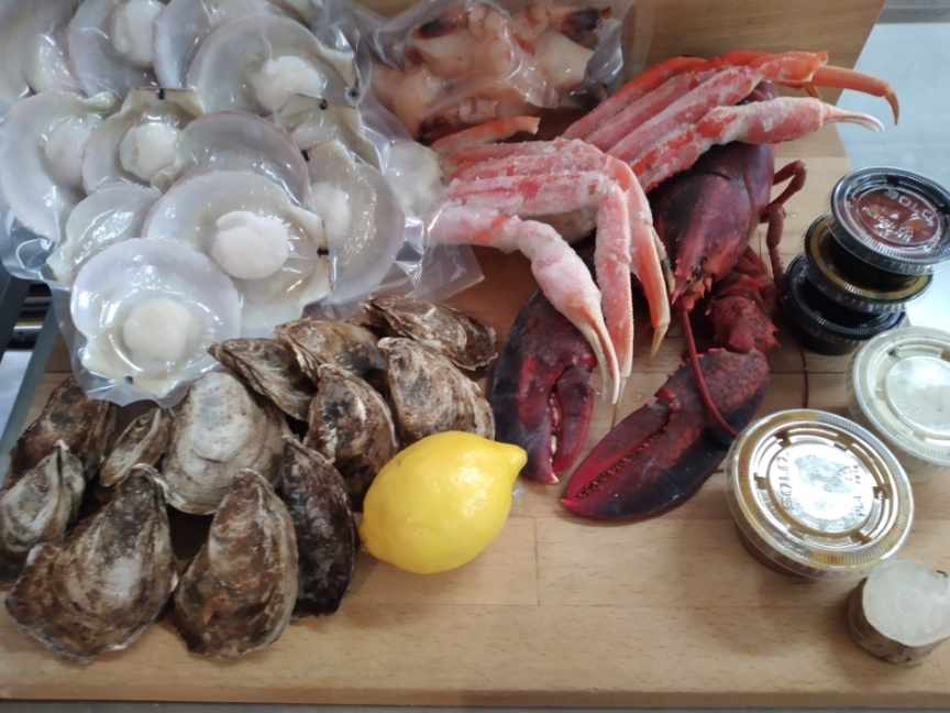Seafood Platter DIY kit