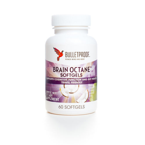 Bulletproof Brain Octane Softgels - 60 capsules