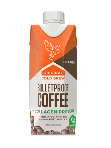 Bulletproof Coffee Cold Brew - 12 x 330ml Original + Collagen - Coming soon