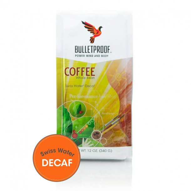 Bulletproof Original Decaf Whole Bean Coffee 12oz / 340g