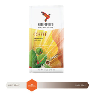 Bulletproof Original Whole Bean Coffee 12oz / 340g