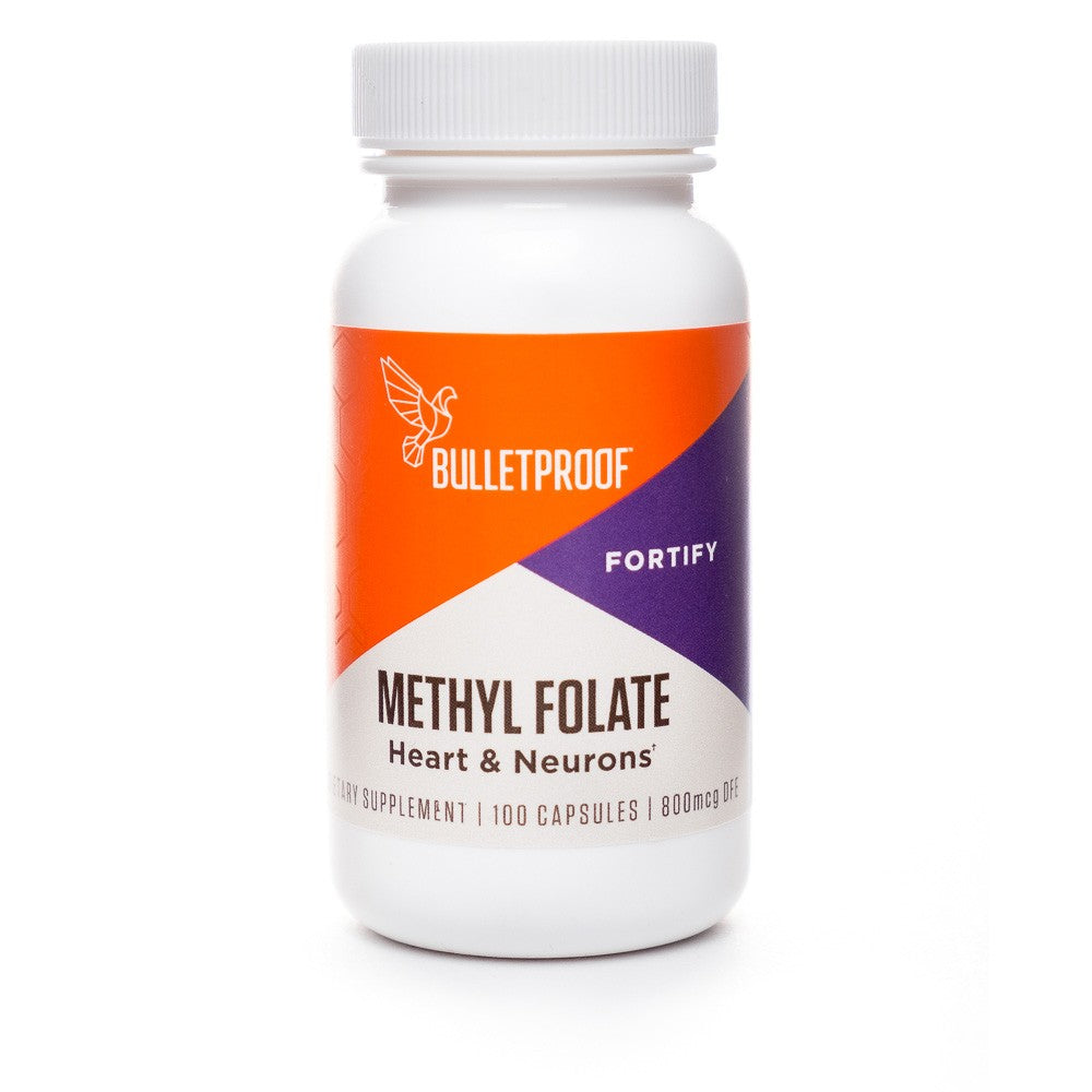 Bulletproof Methyl Folate - 100 capsules