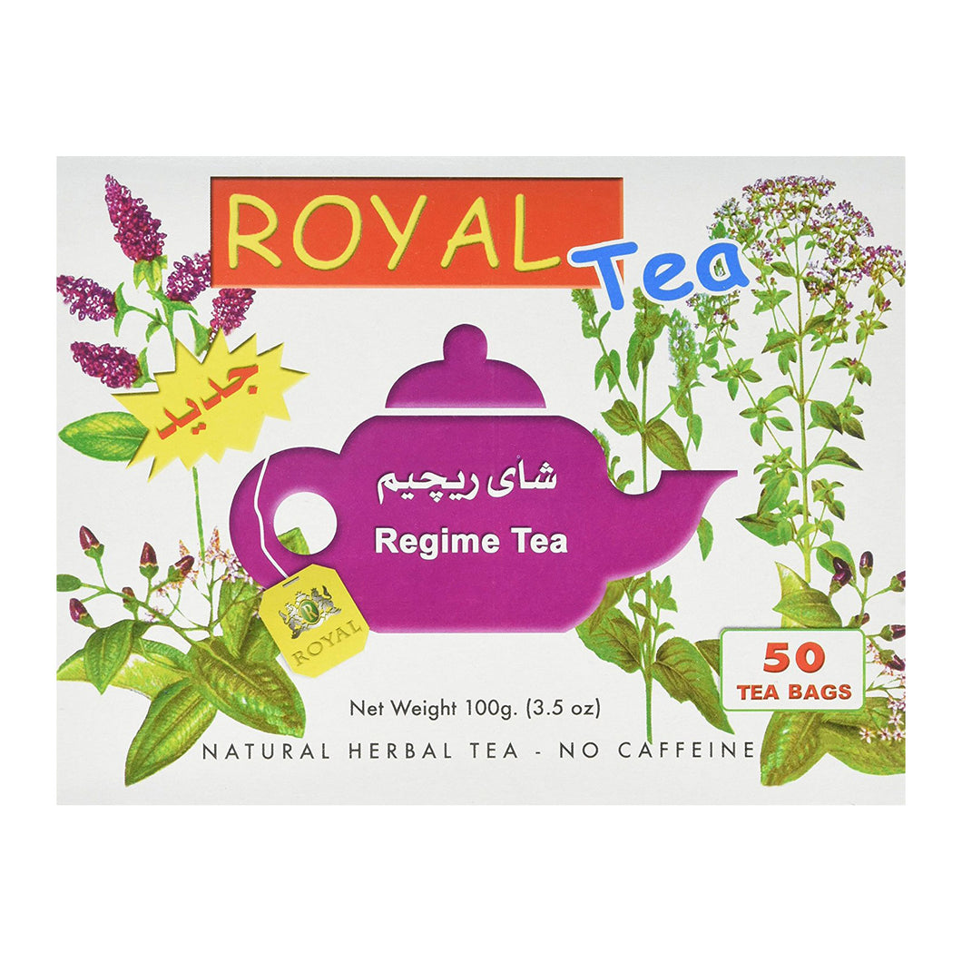 Royal Herbs Royal Regime Tea for weight loss - 50 bags