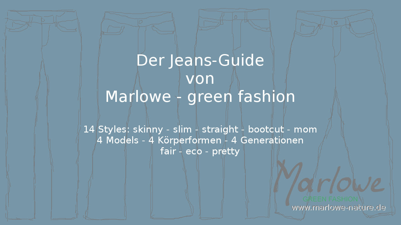 Der Jeans-Guide von Marlowe - green fashion