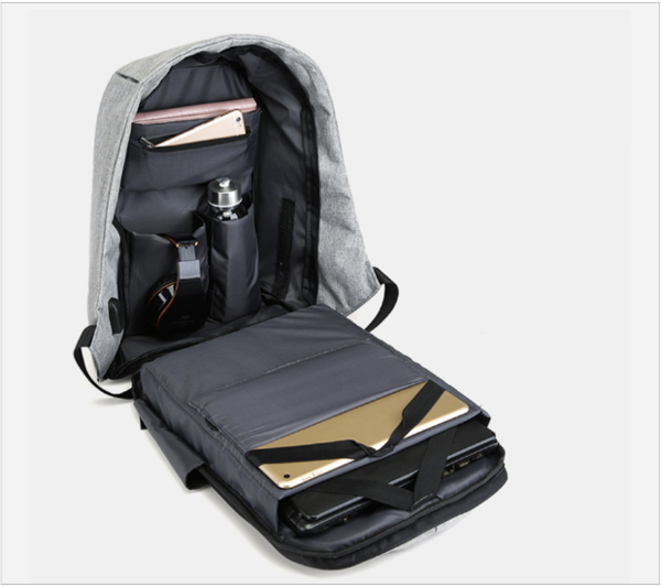 Anti-Theft USB Charging Travel Backpack - Gadget Idol