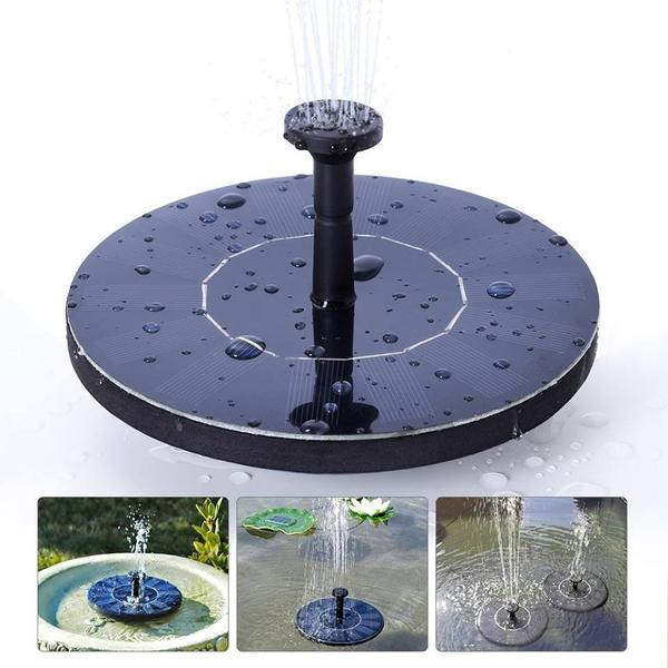 Solar Powered Bird Fountain - Gadget Idol