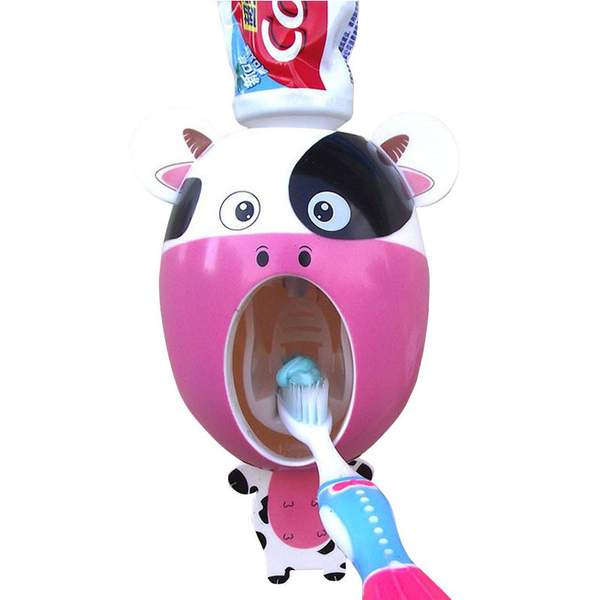 Children's Fun Automatic Toothpaste Dispenser - Gadget Idol