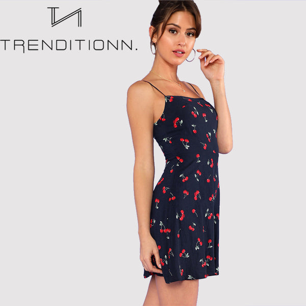 Spaghetti Strap Cami Dress
