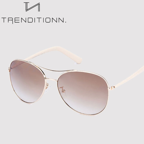 Light Gold Frame Classic Glasses