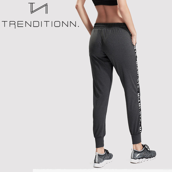 Letter Sport Fitness Workout Trouser