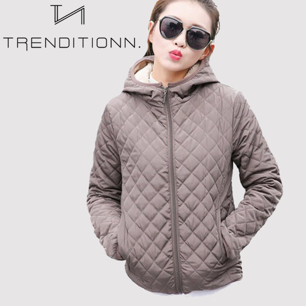 Hooded Fleece Solid Coat