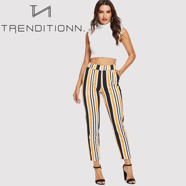 Multicolor workwear pants
