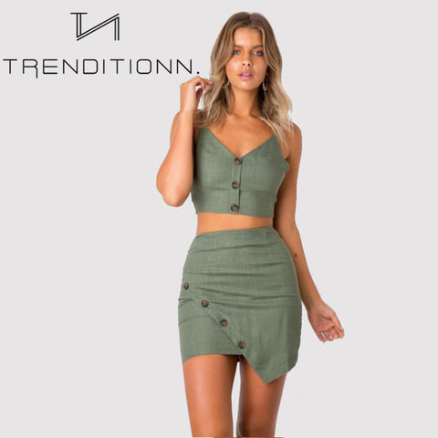 products/Green_Cute_Two_Piece_Skirt_And_Top_4.jpg