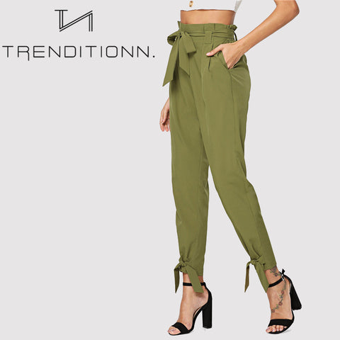 products/Green_Khaki_Classy_Bow_Pants_Bottom_2.jpg