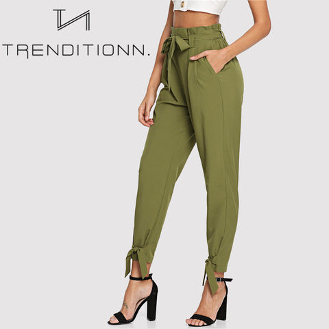 products/Green_Khaki_Classy_Bow_Pants_Bottom.jpg