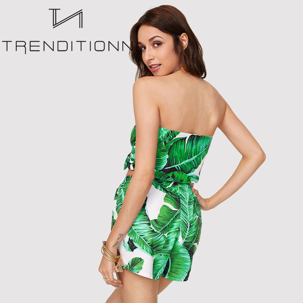 Palm leaves two piece