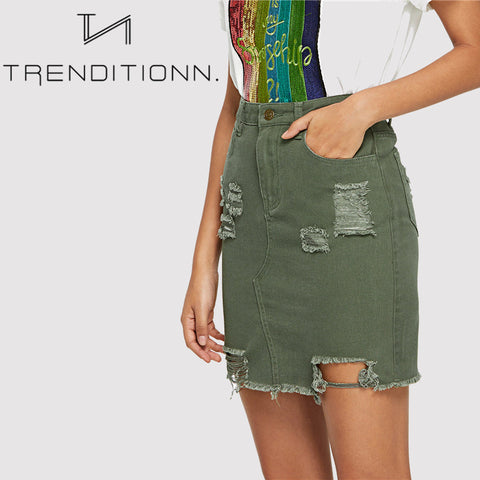 products/Green_Ripped_Denim_Skirt_1.jpg