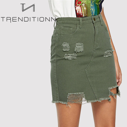 products/Green_Ripped_Denim_Skirt.jpg