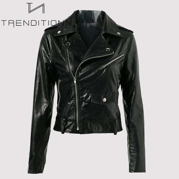 Faux leather jacket ''Ride Or Die''