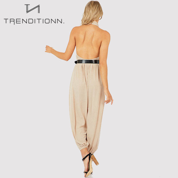 Long harem jumpsuit | Trenditionn.