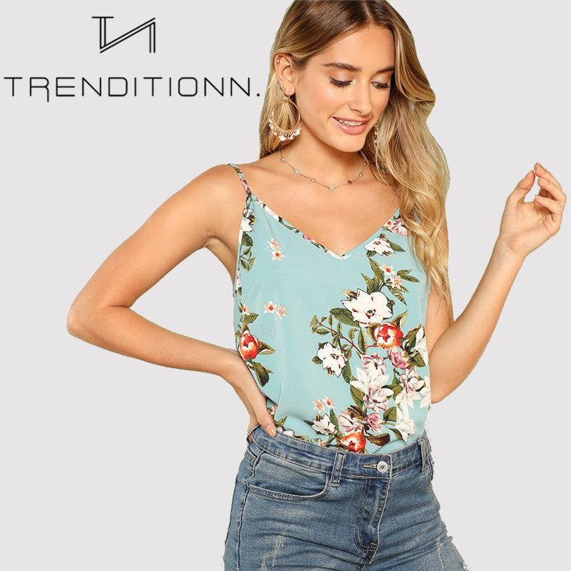 Camisole floral top