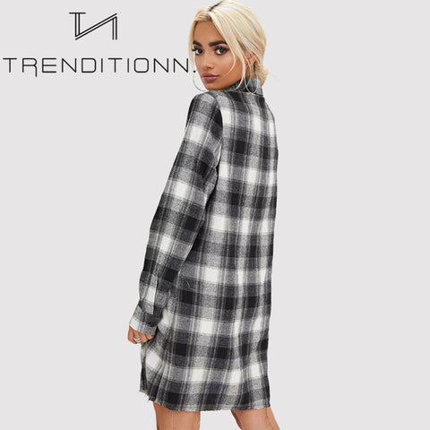Trendy blocked blouse / dress