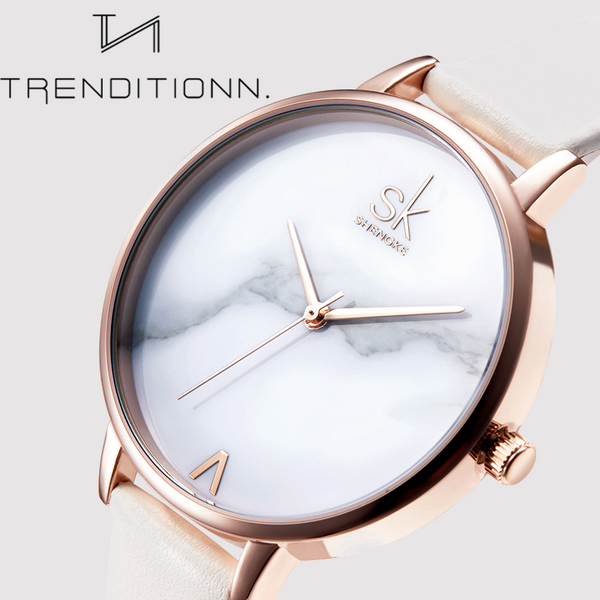 Elegant Marble Watch