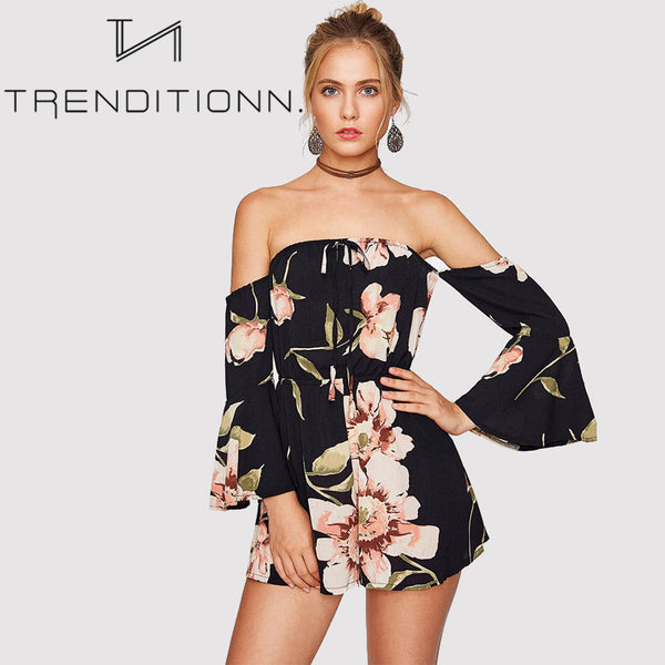 High trend playsuit