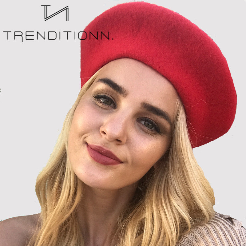 French baret in multiple colors